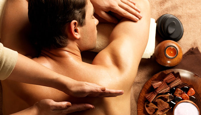 In male to female doha massage by Find Villa